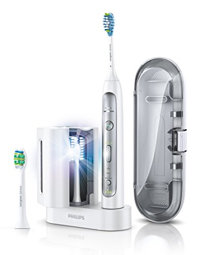 Philips Sonicare HX9172/15 FlexCare Platinum Schallzahnbürste Zubehör UV-Reinigungsgerät Reise-Etui