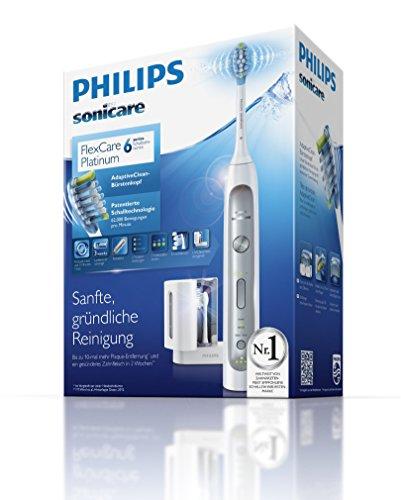 Philips Sonicare HX9172/15 FlexCare Platinum Verpackung Lieferumfang Drucksensor EasyStart